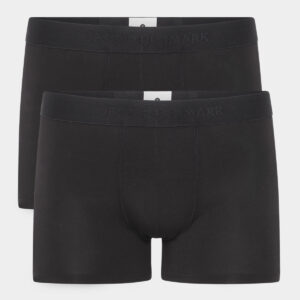 2 pak sorte tights I bambus til herre fra JBS of Denmark (Størrelse: XXX Large)