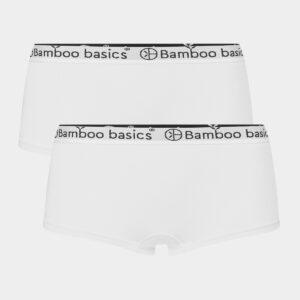 2 par hvide bambus hipsters til dame fra Bamboo Basics (Størrelse: Small)