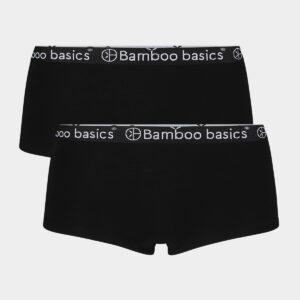 2 par sorte bambus hipsters til dame fra Bamboo Basics (Størrelse: Small)