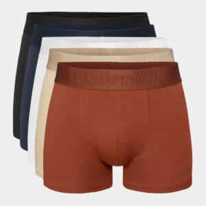 5 par fler farver bambus tights til mænd fra Resteröds (Størrelse: XX Large)
