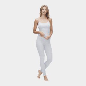 Grå homewear sæt i bambus til dame fra JBS of Denmark