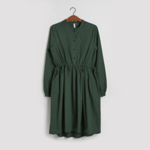 Kjolen - den med knapper i grøn