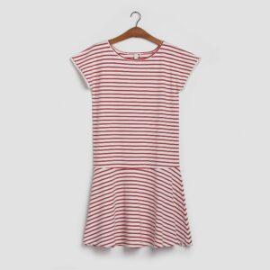 Marianne GOTD - Kjolen den med strib i ribsrød