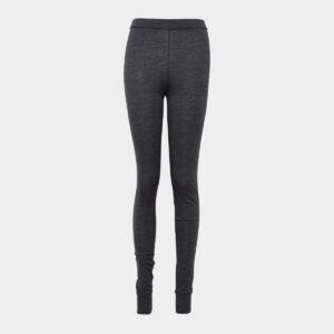 Mørkegrå leggings i uld/bambus til dame fra JBS of Denmark (Størrelse: X Large)