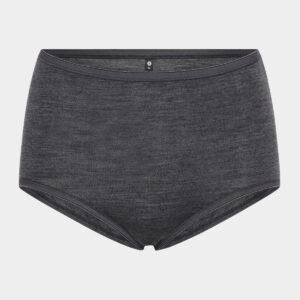 Mørkegrå maxi trusser i uld/bambus til dame fra JBS of Denmark (Størrelse: X Large)