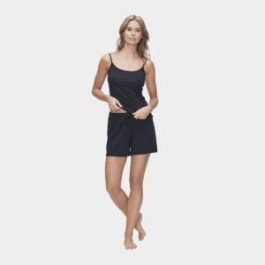 Sort homewear sæt i bambus til dame fra JBS of Denmark