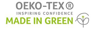 Made in green OEKO-TEX