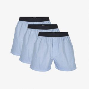 Økologisk bomuld, Boxershorts, 3-pak, Lysblå