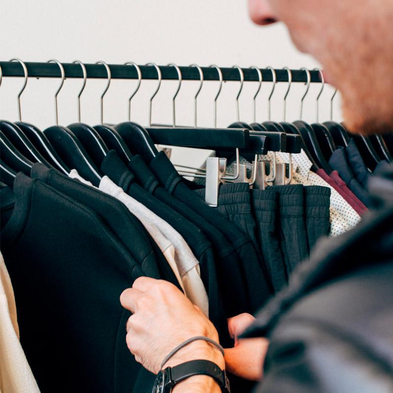 Shopper for bæredygtigt tøj