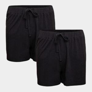 2 pak sorte bambus shorts til Dame fra JBS of Denmark