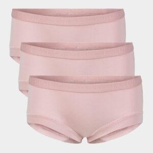 3 pak lyserøde hipsters til piger til Pige fra JBS of Denmark (Størrelse: 3/4)