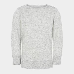 Baby bambus sweatshirt lysegrå til Unisex fra JBS of Denmark (Størrelse: 56)