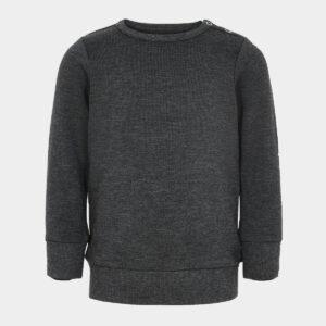 Baby bambus sweatshirt mørkegrå til Unisex fra JBS of Denmark (Størrelse: 56)