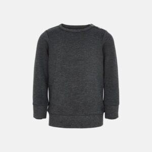 Bambus, Sweatshirt, Mørk grå melange