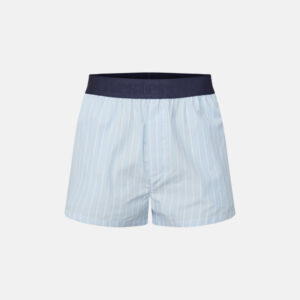 Økologisk bomuld, Pyjamas shorts, Lysblå