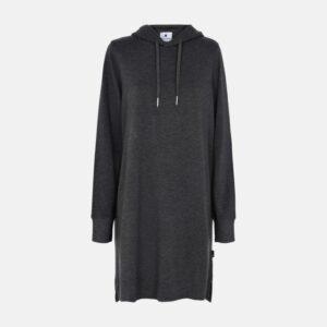 Bambus, Hoodie Dress, Mørkegrå