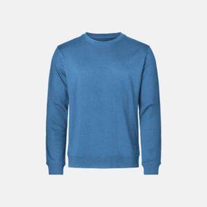 Bambus, Sweatshirt, Blå