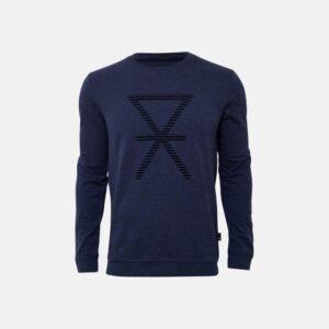 Bambus, Sweatshirt, Mørkeblå