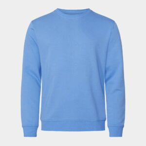 Bambus sweatshirt - lyseblå til Herre fra Resteröds (Størrelse: Small)
